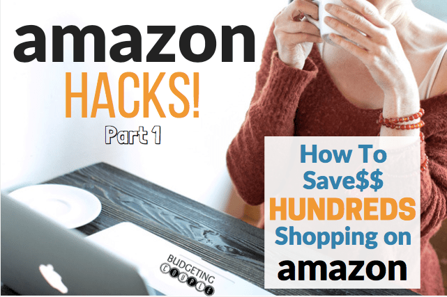 amazon hacks, save money, save money on amazon, amazon shopping, amazon