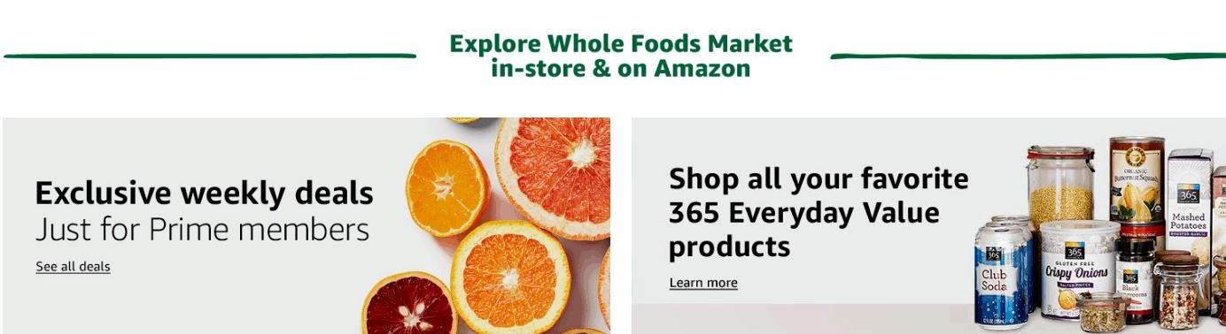 amazon hacks Whole Foods deals