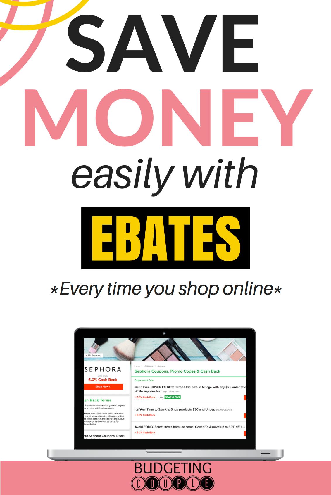 ebates tips, ebates, ebates review, ebates shopping, how to use ebates, ebates hacks, ebates website, ebates hacks when shopping on a budget