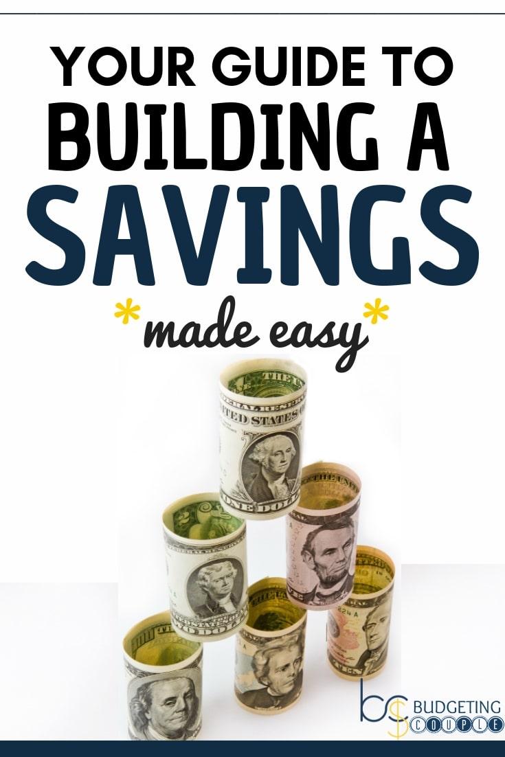 Savings, Saving money, how to save money, save money, money saving tips, saving money tips, build a savings, building a savings, paycheck to paycheck