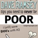 dave ramsey budgeting tips