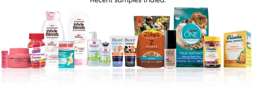 free money and free samples