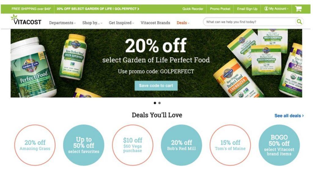 live cheap, cheap and healthy, cheap vitamins, vitacost