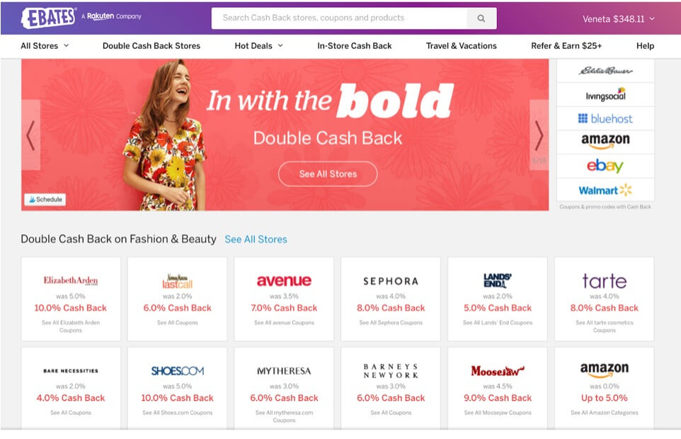 how to live as cheap as possible, Ebates, live cheap using Ebates