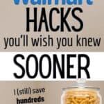 walmart hacks to save money online