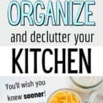 cheap kitchen organization