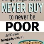 frugal people never buy