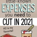 expenses to cut to save money