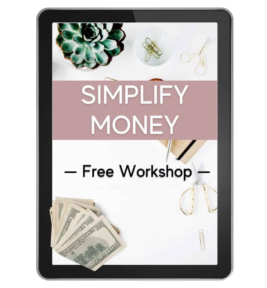 Simplify Money Workshop