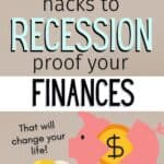 recession proof your finances