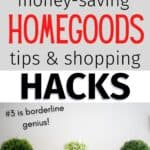 homegoods shopping hacks